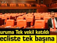 TBMM'nin bugünkü oturumuna katılan tek isim Erkan Baş oldu