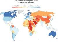 2019 Demokrasi Endeksi: Kıbrıs 34, Türkiye 110'uncu sırada