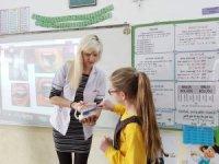 Çocuklara Ağız ve Diş Sağlığı Hakkında Bilgi Verildi