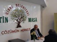 Güngördü, Zeytin Masa'da vatandaşı dinleyecek