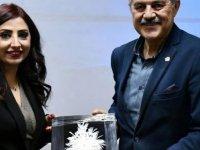 """Daü Turizm Fakültesi Doktora Öğrencisi Ecem İnce """"Kuzey Kıbrıs'ta Cıttaslow (Yavaş Şehir) Felsefesi"""" Konulu Araştırmasını Belediye Başkanlarına Sundu"""