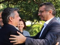 CTP Genel Başkanı Erhürman Güzelyurt ve Lefke'yi ziyaret etti