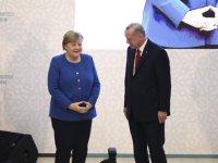 Erdoğan Almanya Başbakanı Merkel ile görüştü: Hafter'in ateşkesi kabul ettiğine inanmıyorum