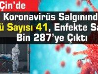 Koronavirüs Salgınında Ölü Sayısı 41, Enfekte Sayısı Bin 287'ye Çıktı