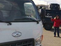HDP'nin, depremzedeler için gönderdiği yardımlar şehre sokulmadı!