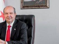 Tatar:Kıbrıs Türkü haklarından,hukukundan taviz vermeyecek