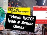"""Depremzedeler İçin BRT'de yardım kampanyası yayını yapılacak:  """"Haydi KKTC! İyilik # Sensiz Olmaz"""""""