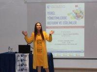 LAÜ'de Yerel Yönetimlerde Reform ve Eğilimler konuşuldu