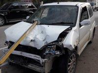 Girne kapısında trafik kazası