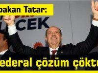 "Tatar: ""Federal çözüm çöktü"""