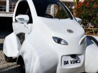 """DAÜ'den """"Da Vinci"""" elektrikli arabası.. Made in Cyprus"""