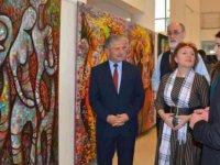 34 Eserden Oluşan İki Ayrı Kişisel Resim Sergisi Başbakan Yardımcısı Ekonomi, Turizm, Kültür ve Spor Eski Bakanı, Milletvekili Menteş Gündüz Tarafından Açıldı…