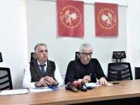 """El-Sen: """"KIB-TEK Yönetim Kurulu Başkanı Onurhan'ın binaya girişini engelleyeceğiz"""""""