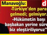 """Manavoğlu'ndan Türkiye'ye """"kaynak"""" sitemi: Hatalı davranıyorlar"""