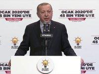Erdoğan: Bu ülkede FETÖ'yü terör örgütü ilan edip ona savaş açan şahsım ve AK Parti'dir