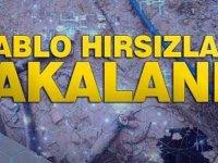 Elektrik Kablosu Çalan İki Genç Tutuklandı