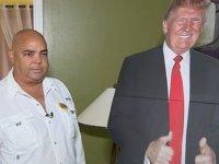 'Kartondan Trump'la diyalize giren hastaya yasak geldi: Seçim kampanyasında değiliz
