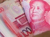 Çin'de kağıt paralar dezenfekte ediliyor
