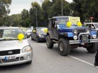 Lefkoşa trafiğe kapandı