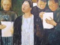 Rusya ve Özbekistan sanatçıları tarafından Kıbrıs Modern Sanat Müzesi için 68 eserden oluşan iki ayrı karma resim sergisi Lefke Milletvekili Aytaç Çaluda tarafından açılacak