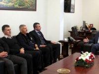"""Başbakan Tatar Hür-iş yetkililerini kabul etti. Tatar: """"önemli olan KKTC'nin istikrarını korumak"""""""