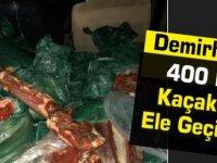 Demirhan'da 400 kilo Kaçak Et Ele Geçirildi