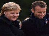 Macron Ve Merkel, Rusya Ve Esed Rejiminden İdlib'de Ateşkes İstedi