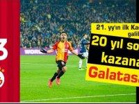 20 yıl sonra,kazanan: #Galatasaray