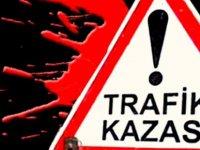 Bafra-Çayırova anayolundaki kazada iki kişi yaralandı