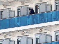 'Diamond Princess gemisindeki Ukraynalılar tahliye edilmeyi reddetti'