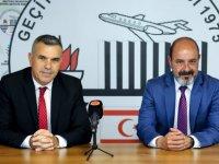 Meclis Başkanı Uluçay Geçitkale Belediyesi'ni ziyaret etti