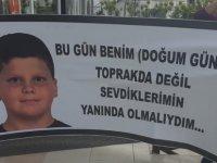 Atlas'ın ailesi sağlık Bakanlığı önünde protesto eylemi yaptı