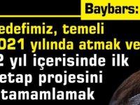 Baybars, Sosyal Konut Projesi ile ilgili BRT'de açıklamalarda bulundu