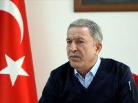 Milli Savunma Bakanı Akar: 200'ü aşkın rejim hedefi ağır ateş altına alındı (VİDEO)
