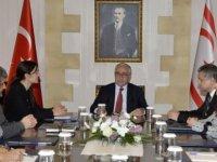 İki Toplumlu Sağlık Komitesi Türk üyeleri toplandı