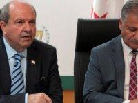 Başbakan Tatar ve Sağlık Bakanı basın toplantısı düzenledi