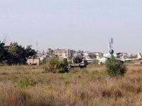 Hafter Milisleri Trablus'taki Mitiga Havalimanı'na 9 Roket Attı