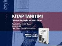 """Nazım Beratlı'nın """"Kıbrıslı Türk Siyasi Tarihi"""" Kitabı Tanıtılıyor"""