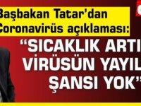 Başbakan Tatar'dan Coronavirüs açıklaması