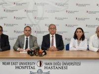 Yakın Doğu Üniversitesi Hastanesi ve Dr. Suat Günsel Girne Üniversitesi Hastanesi'nden Koronavirüse Yönelik Ortak Basın Toplantısı