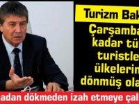 Turizm Bakanı Üstel: Çarşamba'ya kadar tüm  turistler  ülkelerine  dönmüş olacak