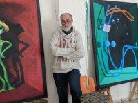 Kıbrıs Modern Sanat Müzesi için Sanatçı İgor Gushchin koronavirüs salgınını fırça ucuna taşıdı...