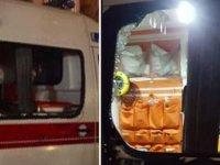 İstanbul'da 'Corona' vakasına giden ambulansa saldırı