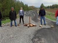 Köyü kendileri karantinaya aldılar: 'Koronavirüs salgınından dolayı giriş-çıkış yasak'