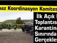 Karpaz Koordinasyon Komitesi İlk Açık Hava Toplantısını Karantina Sınırında Gerçekleştirdi