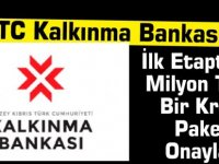 Kalkınma Bankası İlk Etapta 50 Milyon Tl'lik Bir Kredi Paketi Onayladı