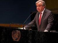 """Guterres: """"2. Dünya savaşı'ndan sonra karşı karşıya kaldığımız en zorlu kriz"""""""