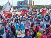 Küba'da 1 Mayıs yürüyüşü iptal edildi