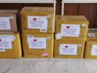 Çin'den Güney Kıbrıs'a ilk tıbbi malzeme yardımı ulaştı