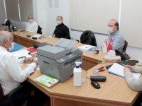 Başbakanlık Covid-19 Koordinasyon Konseyi yeni önerilerini Tatar'a sundu